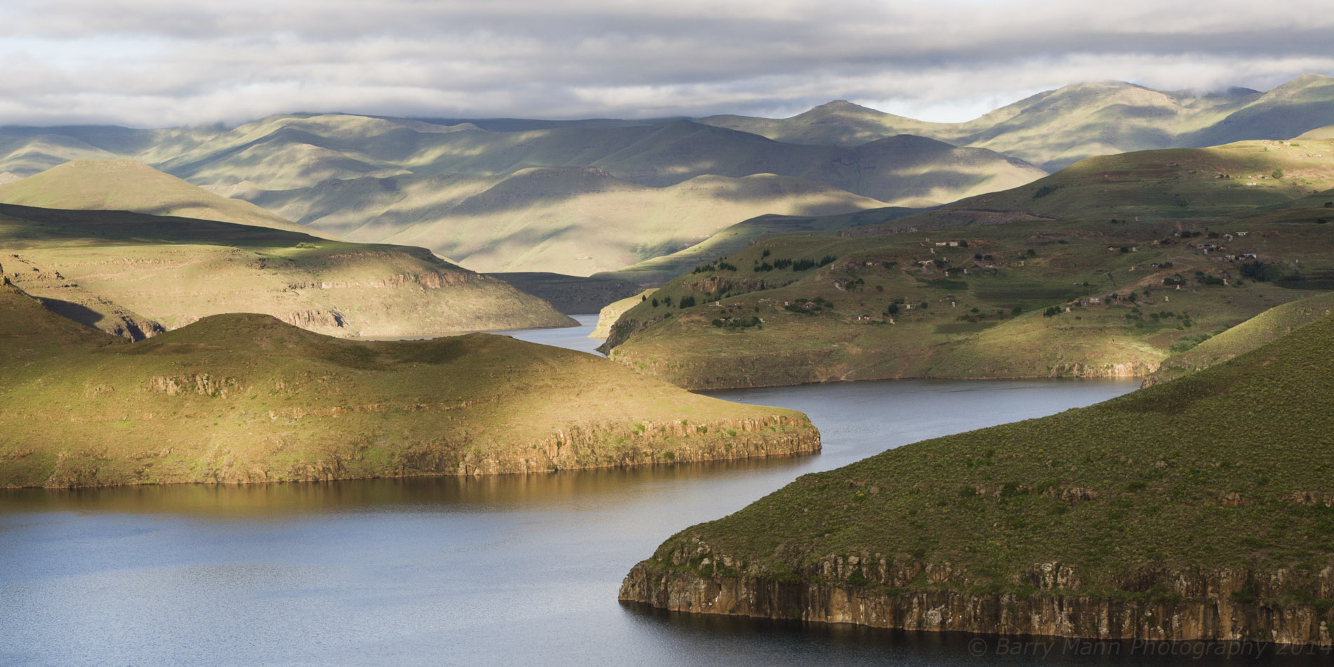 Katse Reservoir, Lesotho Highlands