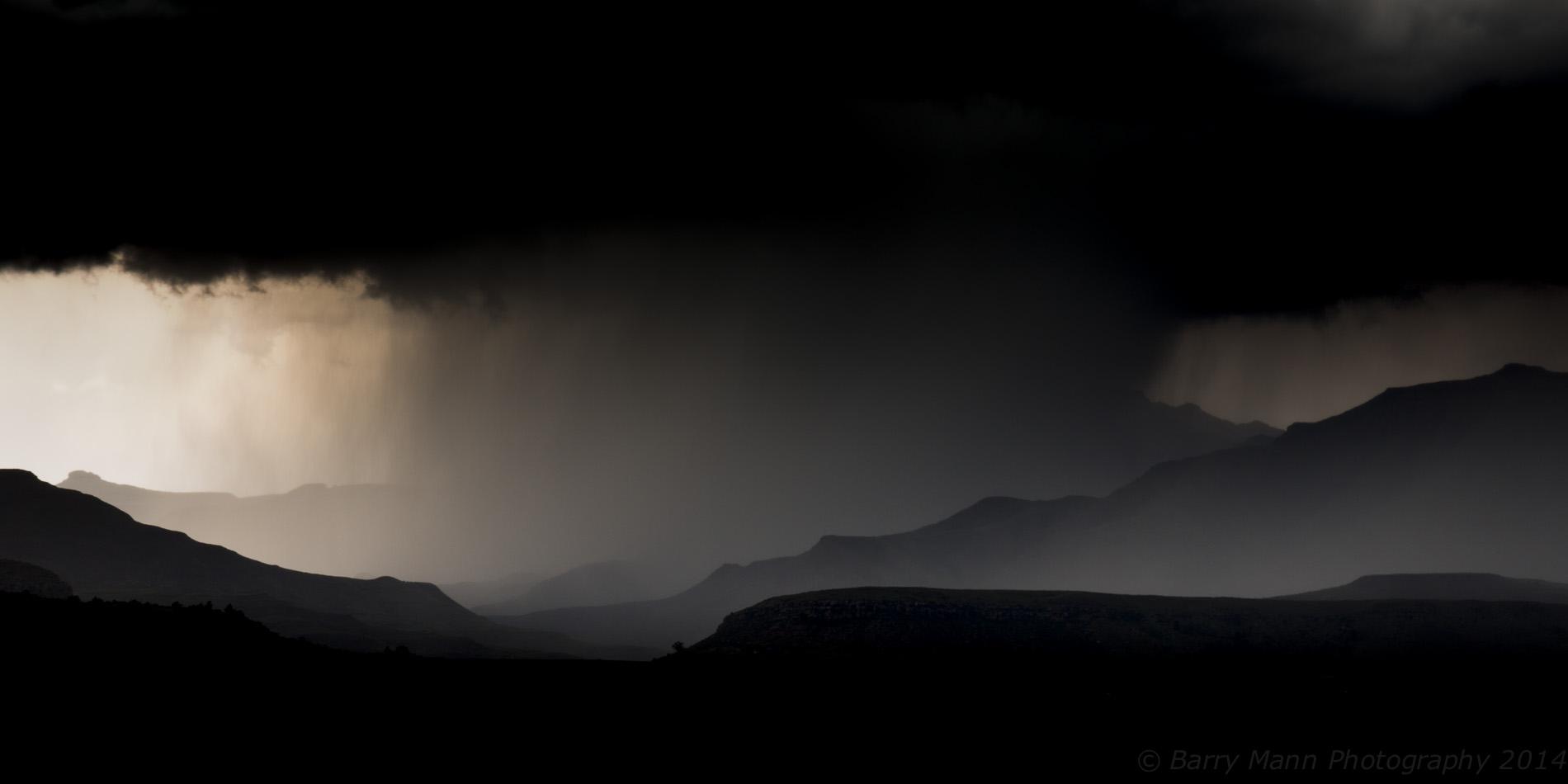 Lesotho storm