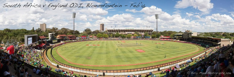 England won the toss in the first ODI in Bloemfontein between South Africa & England. England scored 399-9 from their 50 overs.
